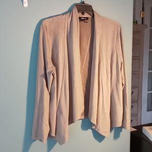 Faux suede beige Jacket